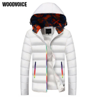 Thick Warm Men Winter Coat Fashion Jacket Men Parka High Quality Plus Size Camouflage Colorful Zipper