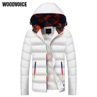 Thick Warm Men Winter Coat Fashion Jacket Men Parka High Quality Plus Size Camouflage Colorful Zipper