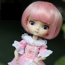 22cm Head Circumference 30cm Length 1/6 BJD Doll Wig SD/BJD Female BBGirl Hair Accessories Makeup Toys For Girls