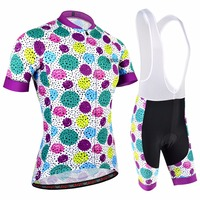 BXIO Brand Women Cycling Clothing V Collar Bike Wear For Girls Pro Team Bicycle Uniform Ropa
