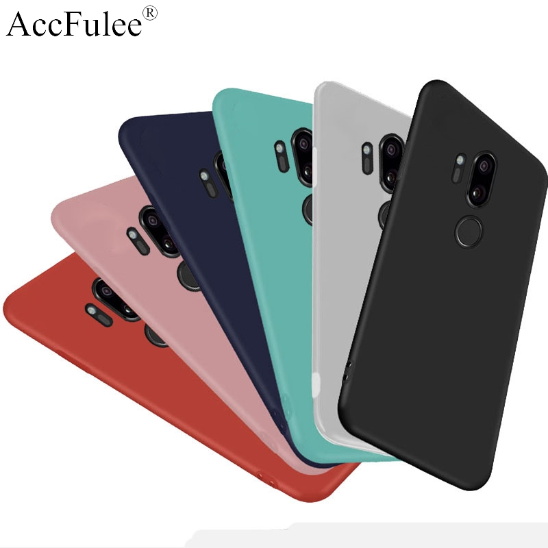 Color Matte Candy TPU Case for LG G8 G7 G6 G5 G4 Stylus G3mini Stylo 4 V10 V20 V30 V40 Ultra thin Transparant Soft Cover(China)