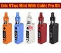 Original joyetech vtwo mini con cubis pro kit con 75 w evic VTwo Mini Mod y Cubis Pro 4 ml Atomizador Actualizable eVic VTC Mini