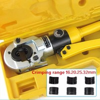 Express Free Shipping 3PCS/LOT Hydraulic Fitting Tool for PEX pipe fittings PB pipe Copper AL connecting range 16 32mm