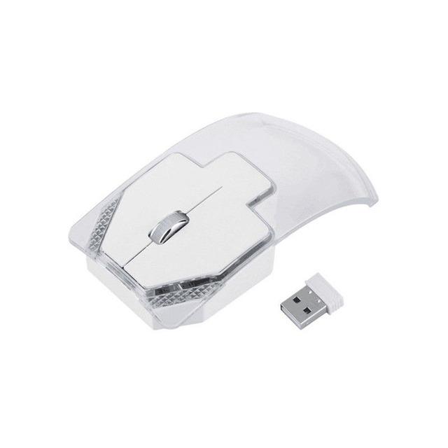 Luminous Transparent Wireless Computer Mouse