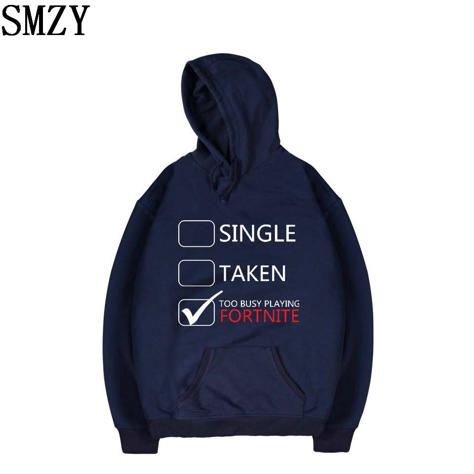SMZY Fortnite Hooded Hoodies Mens Sweatshirts Winter Popular FPS Games Hoodies Sweatshirt Tops Pullovers Fashion Casual Clothes