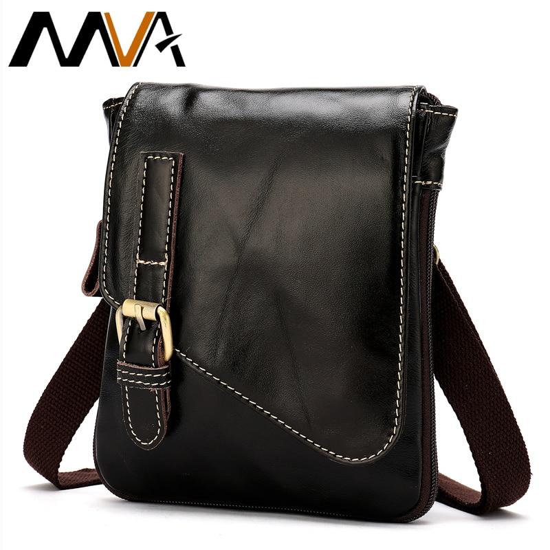 MVA férfi táska valódi bőr Messenger táskák férfi váll crossbody táskák telefon pénz férfi derék csomag bőr tok táska öv 8899