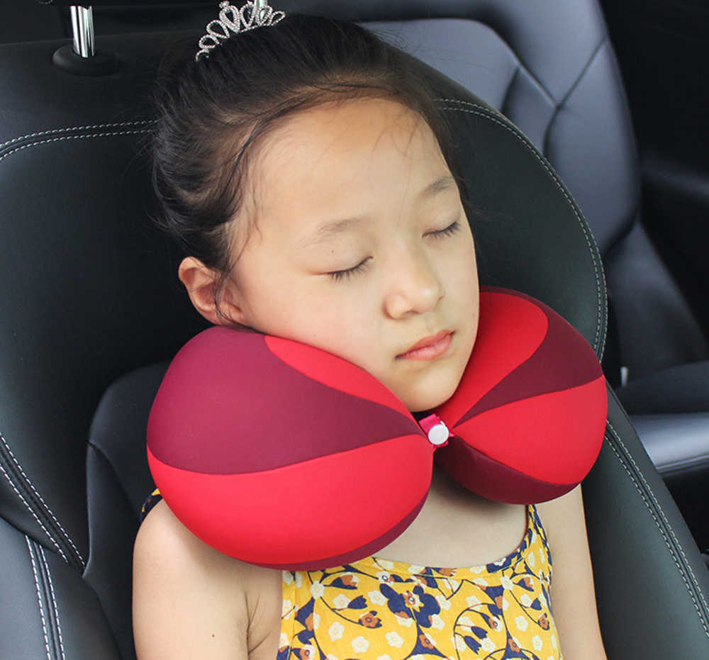 Fox U Shaped Toddler Neck Support Rest Pillow For Car Seat Baby Child Travel Pillow Baby Car Seats Accessories
