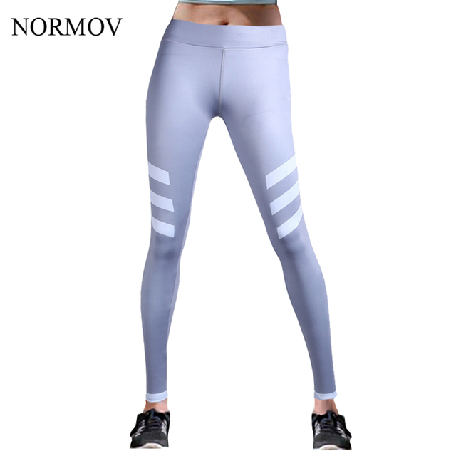 NORMOV S-L Workout Leggings Women Activewear High Waist Printed Legging Adventure Time Super Soft Thin Summer Spandex Leggins