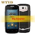 "Doogee titans2 dg700 prueba de choques impermeable 8 gb rom + 1 gb de ram 3g 4.5 ""Android 4.4 Smartphone MTK6582 Quad Core Dual SIM"