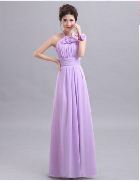 ee95f79a03 Beauty-Emily Cheap Long Chiffon Blush Pink Bridesmaid Dresses 2019 A-Line  Vestido De Festa De Casamen Formal Party Prom Dresses