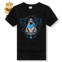 Cool Game Fans Tee Shirt LOL T Shirt Project Series Project Ashe T Shirt Hot Gamer