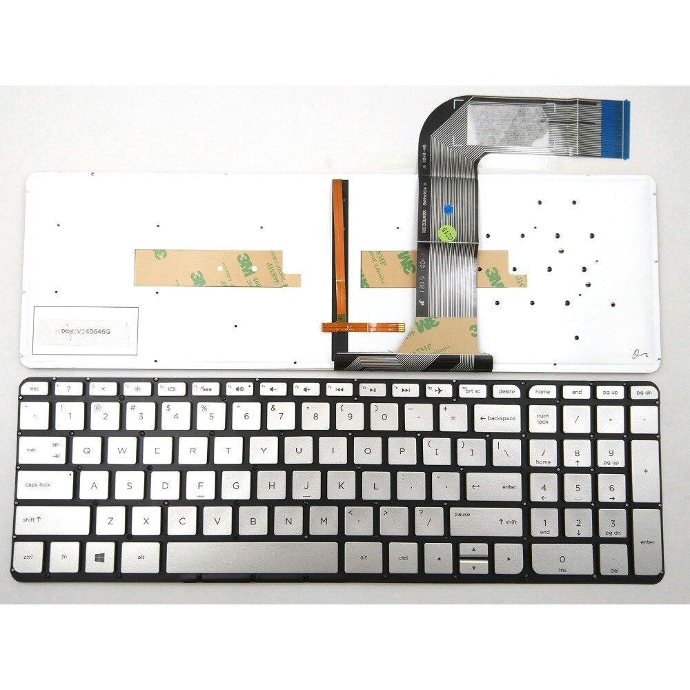 New For HP Envy 15-K177NR 15-K178NR 15-K192NR 15-K200 Keyboard Backlit US