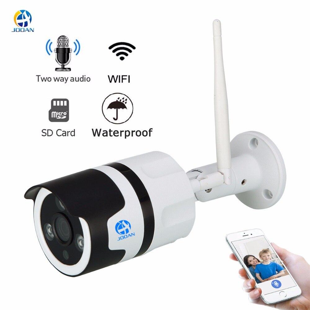 JOOAN wireless IP Kamera Wifi 2.0MP outdoor überwachung kamera 1080 p Onvif gewehrkugel IP security kamera TF karte rekord IP66