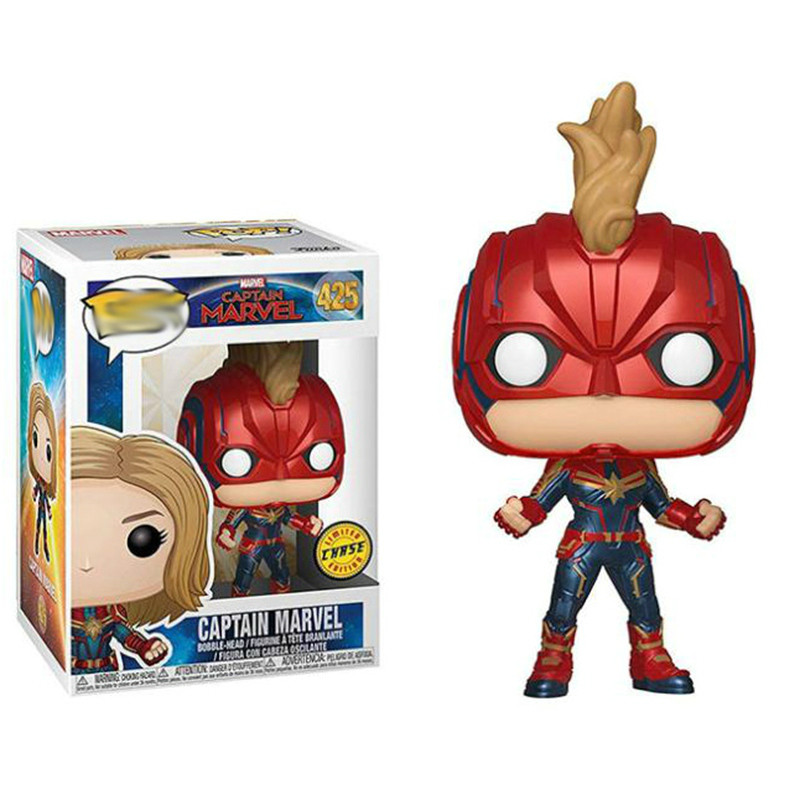 Figura in vinile-Capitano Marvel MASCHERATO Marvel Funko Pop