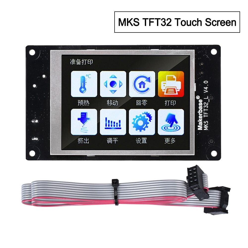 3D Printer Parts MKS TFT32 Touch Screen Smart Controller Display Control Panel 3.2-inch Full-color Reprap Mks Gen V1.4