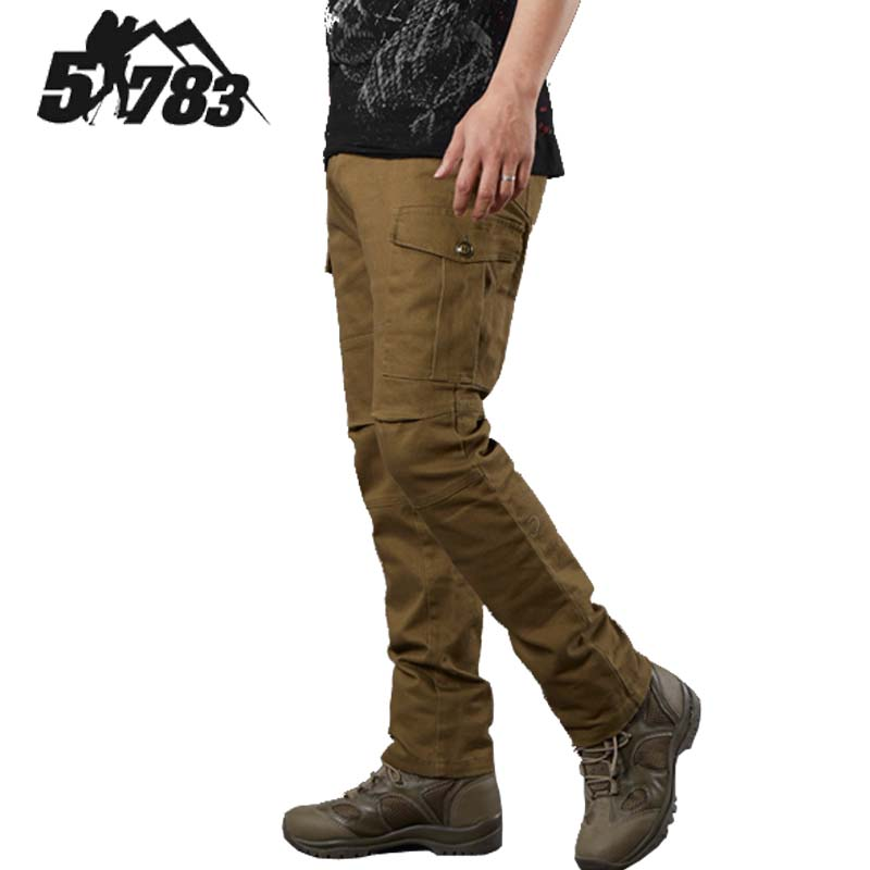 51783 Brand Men Pants Vintage Military Army Pants M65 Field Army Chino Pants 100% Cotton Full Length Straight Multi-pocke Pants