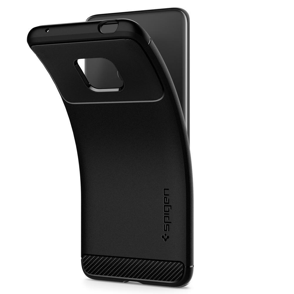 Spigen Huawei Mate 20 / Mate 20 Pro / Mate 30 Case Rugged Armor Matte Black Anti-Slip Soft TPU Cases