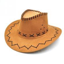 Clásico sombrero de vaquero hombres mujeres al aire libre senderismo  estudiante niños playa sombreros para el 176036cda14f