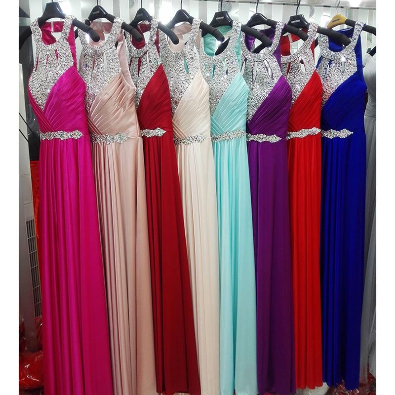 Δωρεάν αποστολή Ολόσωμη σατέν φόρεμα - Ειδικές φορέματα περίπτωσης - Φωτογραφία 6
