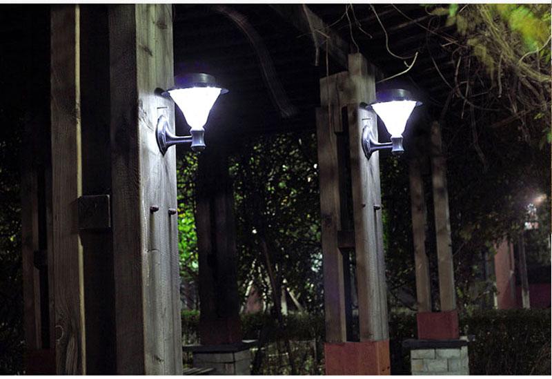 Transctego solar jardim 32 leds luz led