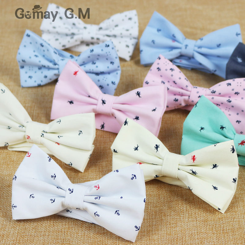2015 New Fashion Mens Bowtie for Part Business Casual Solid Adjustable Adult bow ties Free shipping