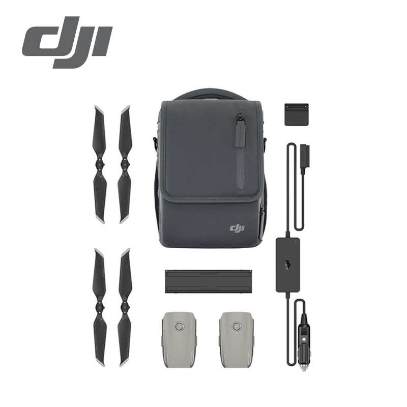 DJI Mavic 2 Fly More Kit include Car Charger Charging Hub Battery to Power Bank Adapter Low Noise Propellers Shoulder Bag-in Drone Boxes from Consumer Electronics    1