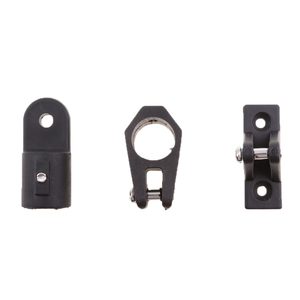 Image 1 - 12 Stks/set Voor 3 Boog Bimini Top 7/8 Zwart Boot Onderdelen Nylon Fittingen Hardware Kit Trousse Daccessoires Materieel