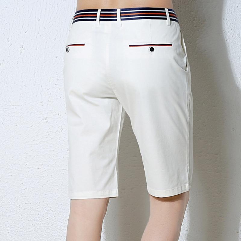 HCXY Mens Shorts Casual 2018 Summer Brand Shorts Men Fashion Cotton Slim  Masculina Mens Beach Shorts Upscale Male Shorts