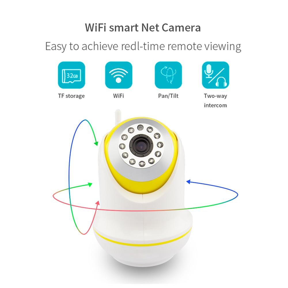 PUAroom indoor ptz network diy home security wifi wireless cctv security ip camera (1)