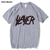 Speed Metal Slayer Banda de Rock T-shirt Hombres 2017 Verano Carta impreso top tees hombres de algodón de manga corta t shirt clothing 3XL