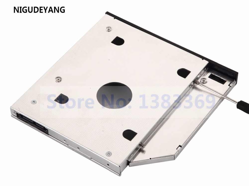 NIGUDEYANG 2nd SATA HD HARD DRIVE Adapter Caddy para TOSHIBA SATELLITE L505 L505D L840 L845 L845D Swap GT20F SN-208 DVD