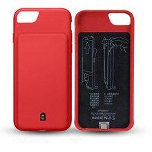4500/7000 mAh External Battery Charger Case For iphone 7 Plus 8 Plus 6 Plus 6S Plus Portable Backup Audio Power Bank Cases