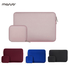 11.6 13.3 15.6Inch Laptop Sleeve Waterproof Neoprene Case Bag Cover for MacBook Air/Pro Ultrabook Netbook Tablet Baby Pink Hot