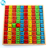 Baby Wooden Educational Toys 99 Multiplication Table Math Toy 10 10 Figure Blocks Baby Toys Pupil