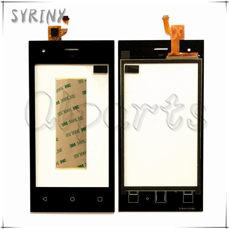 Syrinx Avec 3 m Bande Écran Tactile Pour Highscreen Pur F Écran Tactile Digitizer Écran Tactile Panneau Avant Du Capteur En Verre de Remplacement