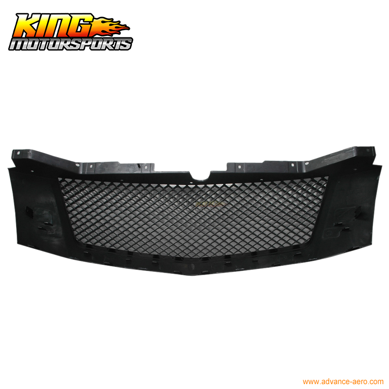 For 07-14 Cadillac Escalade Black Mesh Grill Grille Esv Ext USA Domestic Free Shipping Hot Selling for 07 09 toyota tundra chrome mesh grill grille brand new 2007 2008 2009 usa domestic free shipping hot selling