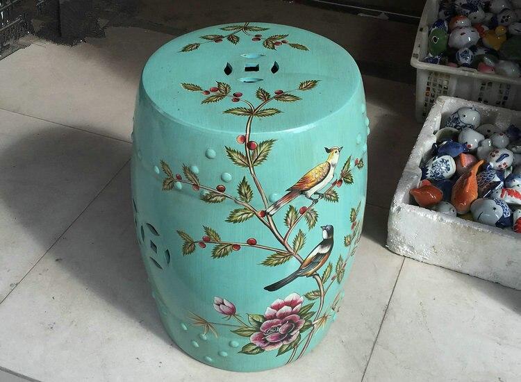 Sgabello Per Fiori : Fiori e uccelli giardino sgabello di porcellana jingdezhen tamburo