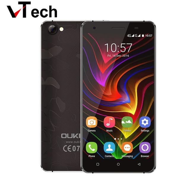 Original Oukitel C5 PRO Mobile Phone 5.0 inch 1280x720 Android 6.0 MTK6737 Quad Core 1.3GHz 2G RAM 16G ROM Dual SIM Unlocked