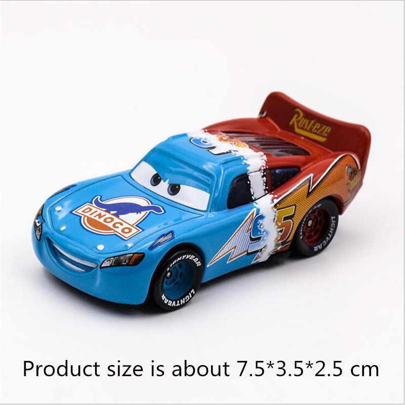 Disney pixar carros 35 estilos marca nova mobilização geral mcqueen king of cars racing família 1:55 diecast metal liga modelo de brinquedo