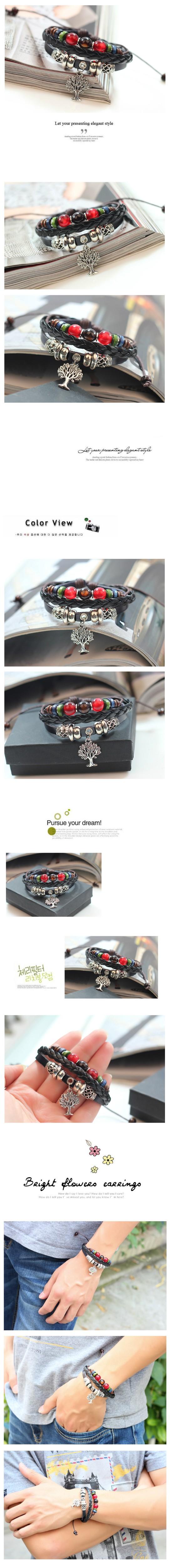 tree bracelet wristband 1