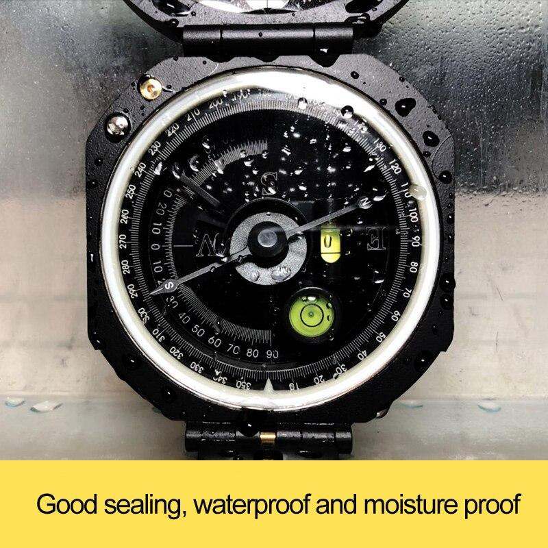 Image 2 - Профессиональный геологический компас Eyeskey, легкий Военный компас для выживания на открытом воздухе для измерения расстояния наклонаpocket compassmilitary compassgeology compass -