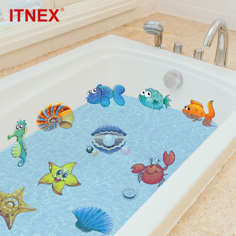 Bath Sticker nemo Fish Sea Cartoon Wall Sticker