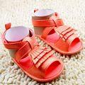 2017 Nuevos Zapatos de Bebé de Bebé de La Princesa Zapatillas de Verano de Moda Bebé Infant Toddler Mocasines Blandos de Interior Zapatos BB