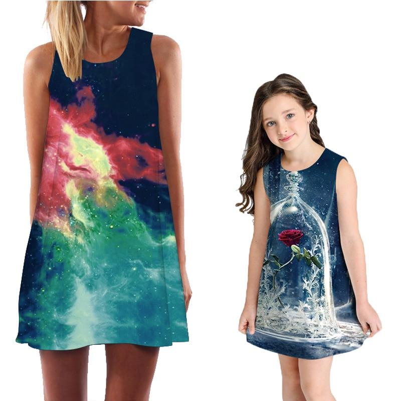 8c35a807dd Pk Bazaar mother kids summer matching family clothes mother kids t ...