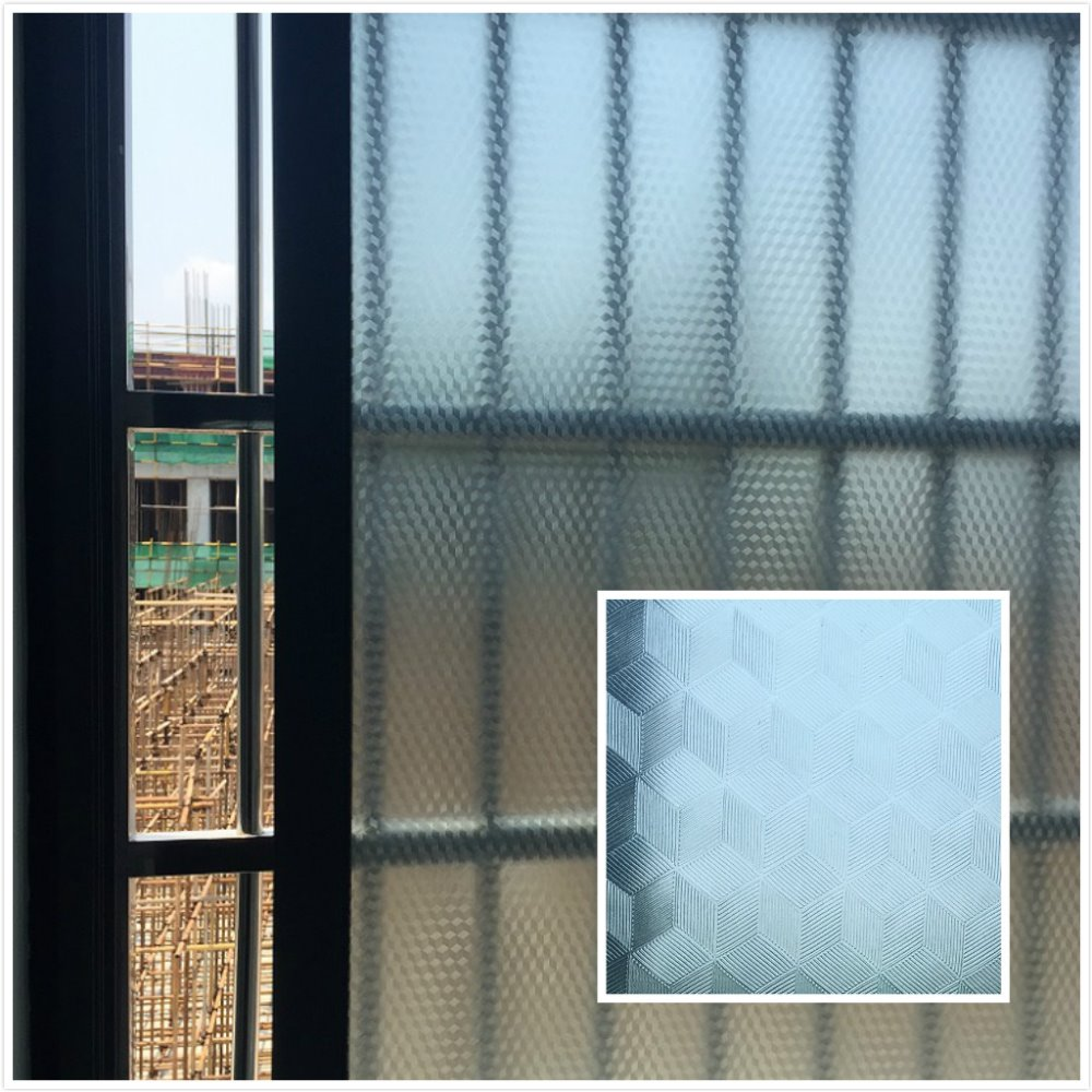 PVC Waterproof Window Film Glass Sticker Home Bedroom Bathroom Privacy Frosted Frost Cover 45/65/85x100cm Hot image