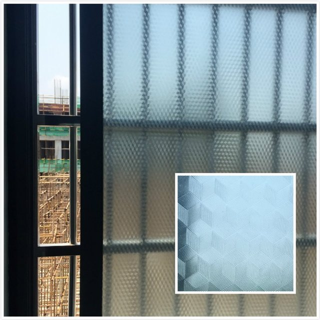 Pvc Waterproof Window Film Gl Sticker Home Bedroom Bathroom Privacy Frosted Frost Cover 45 65