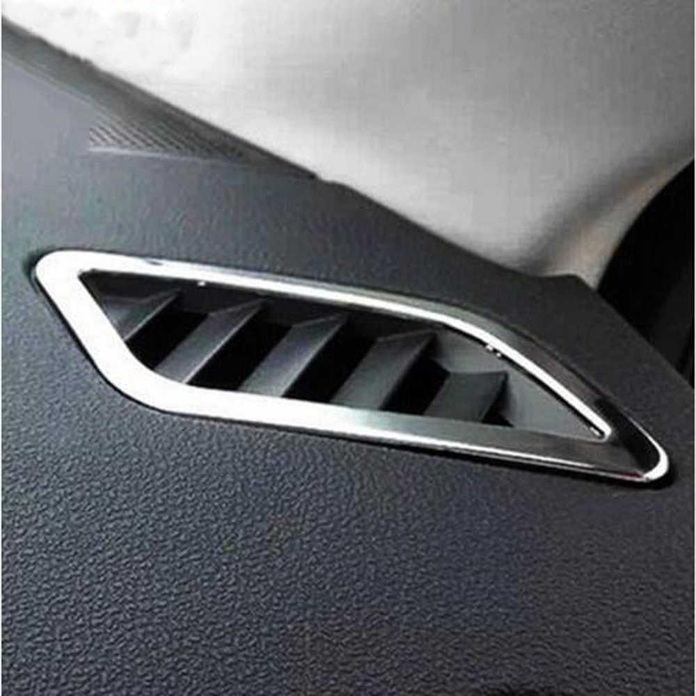 Новое поступление ABS хром для Nissan Qashqai 2008-2014 Кондиционер Выход с блестками детали 2 шт