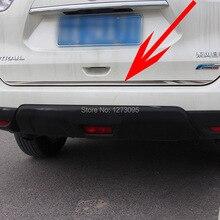 Для 2014 2015 2016 Nissan Rogue X-Trail T32 X Trail Из Нержавеющей задний Багажник Загрузки Багажника Двери Крышка Молдинг Накладка Автомобиль Аксессуар