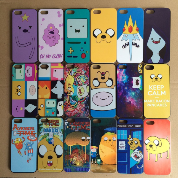 21 designs Adventure Time Beemo BMO Jake, Finn, lumpy space princess Hard Back Cover case iphone 5 5s SE - Beyond Trading Company Limited store