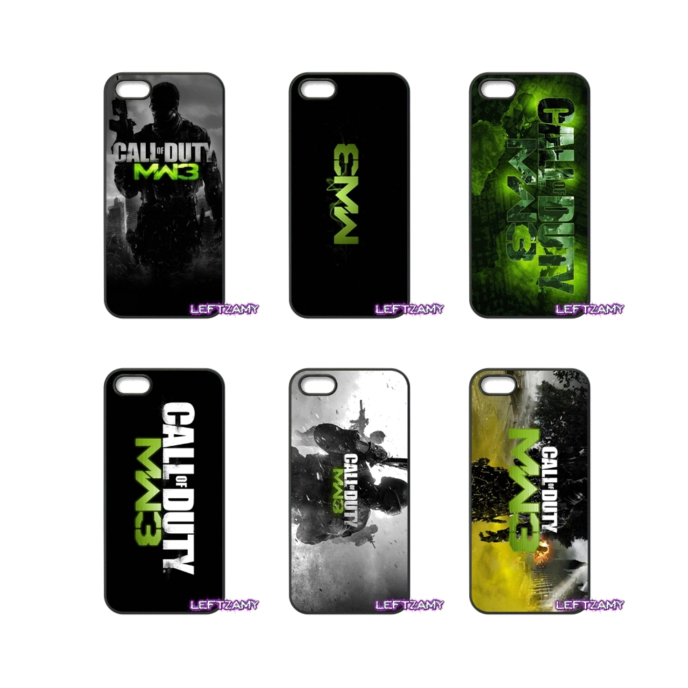 Call Of Duty Mw3 Hard Phone Case Cover For Xiaomi Redmi Note 2 3 3S 4 Pro Mi3 Mi4i Mi4C Mi5S MAX